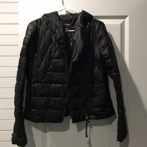 Womens Bebe puff jacket